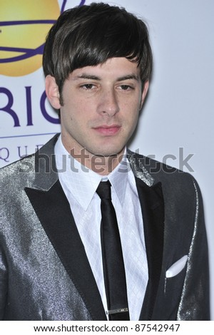 Mark Ronson at music mogul Clive Davis' annual pre-Grammy party at the Beverly Hilton Hotel. February 9, 2008  Los Angeles, CA Picture: Paul Smith / Featureflash