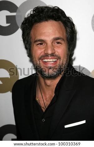 """Mark Ruffalo at the GQ 2010 """"Men Of The Year"""" Party, Chateau Marmont, West Hollywood, CA. 11-17-10 - stock photo"""