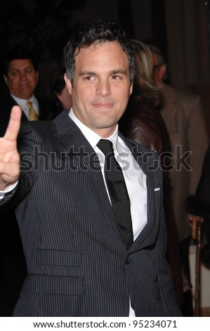 "Mark Ruffalo at the Los Angeles premiere of ""Zodiac"" at Paramount Studios, Hollywood. March 2, 2007  Los Angeles, CA Picture: Paul Smith / Featureflash"