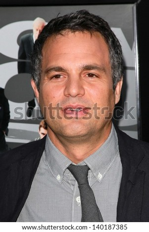 """Mark Ruffalo at the """"Now You See Me"""" Special Screening, Arclight, Hollywood, CA 05-23-13 - stock photo"""
