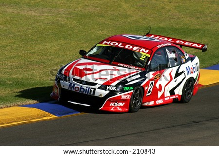 Mark Skaife, at the Clipsal 500, Adelaide 2004 - Holden's top driver. V8 series