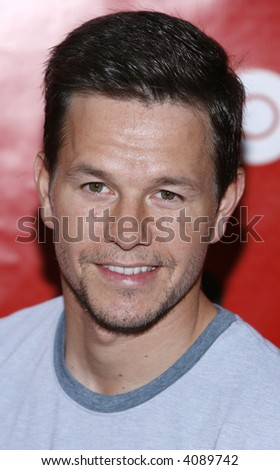 "Mark Wahlberg at the Fourth Season Premiere of ""Entourage"" presented by HBO at the Ziegfeld Theatre on June 14, 2007 in New York City. - stock photo"