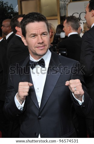 Mark Wahlberg at the 69th Golden Globe Awards at the Beverly Hilton Hotel. January 15, 2012  Beverly Hills, CA Picture: Paul Smith / Featureflash