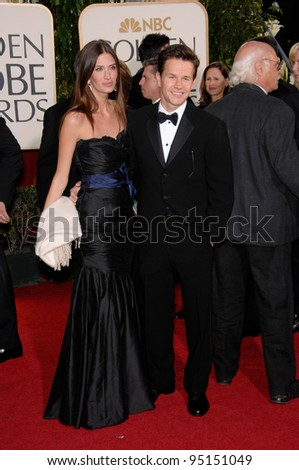 MARK WAHLBERG & RHEA DURHAM at the 64th Annual Golden Globe Awards at the Beverly Hilton Hotel. January 15, 2007 Beverly Hills, CA Picture: Paul Smith / Featureflash