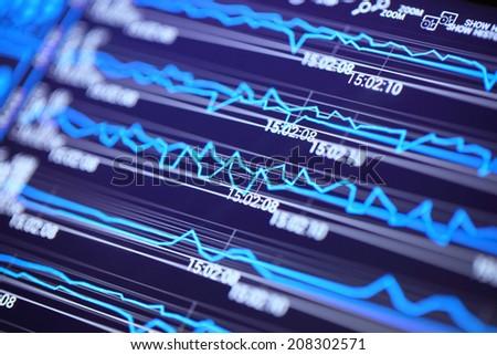 Market Analyze. - stock photo