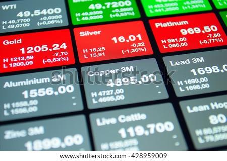 Market background. Market stock board. Stock market price. Stock market background. Market finance background. Stock market abstract background. Stock market gold. Stock market silver. Market trading - stock photo