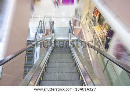 market elevator   - stock photo