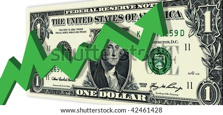 Market Going Up - stock photo
