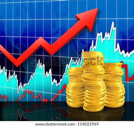 Market Wealth - stock photo