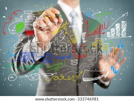 Marketing. - stock photo