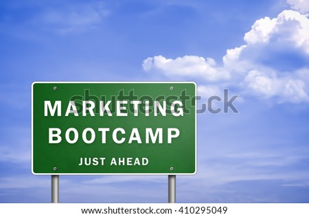 Marketing Bootcamp - just ahead