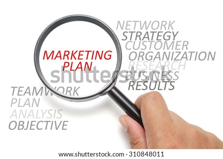 Marketing plan conceptual