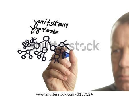 marketing strategy - stock photo