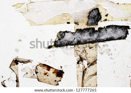 marking tape - stock photo