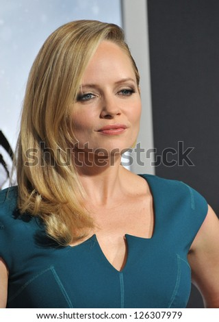 "Marley Shelton at the Los Angeles premiere of ""Hansel & Gretel: Witch Hunters"" at Grauman's Chinese Theatre, Hollywood. January 24, 2013  Los Angeles, CA Picture: Paul Smith - stock photo"