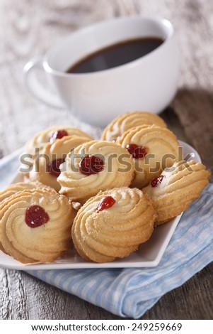Marmalade cookies - stock photo