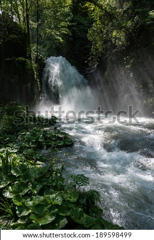 Marmore Falls in Central Italy