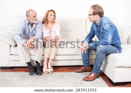 marriage guidance - stock photo