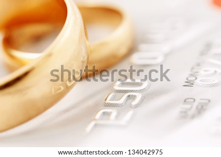 Marriage of convenience - stock photo