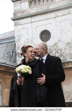 married couple - stock photo