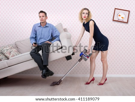 Married life - stock photo