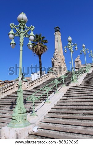 Marseille in France - stock photo