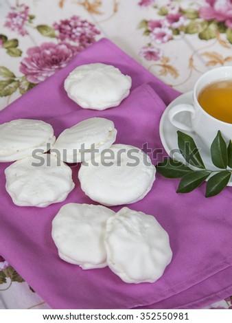 Marshmallow - stock photo