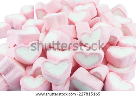 marshmallows candy  - stock photo