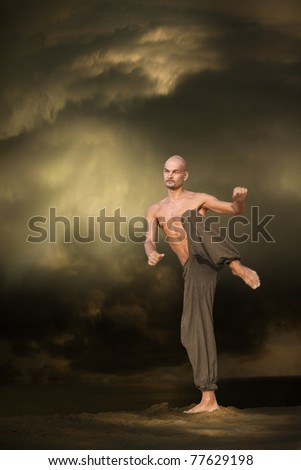 Martial Arts Sports Training - stock photo