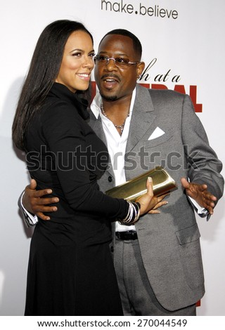 Martin Lawrence at the Los Angeles premiere of 'Death At A Funeral' held at the ArcLight Cinerama Dome in Hollywood on April 12, 2010.  - stock photo