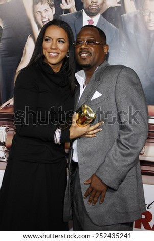 """Martin Lawrence at the World Premiere of """"Death At A Funeral"""" held at the Arclight Cinerama Dome in Hollywood, California, United States on April 12, 2010.  - stock photo"""