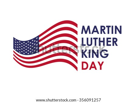 Martin Luther King Jr Day Biggest Stock Illustration ...