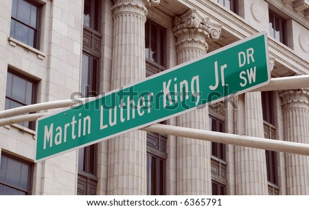 Martin Luther King Jr Drive, Atlanta.