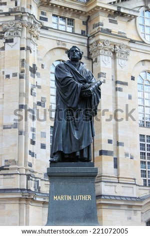 Martin Luther statue, Germany
