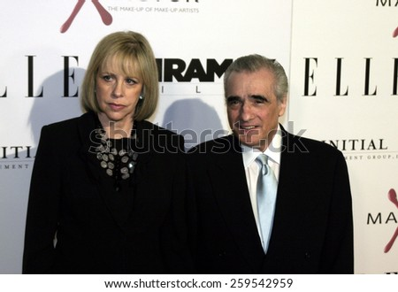 """Martin Scorsese at the """"The Aviator"""" Los Angeles Premiere held at the Grauman's Chinese Theatre in Hollywood, California, United States on December 1, 2004. - stock photo"""