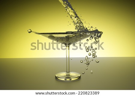 Martini  - stock photo