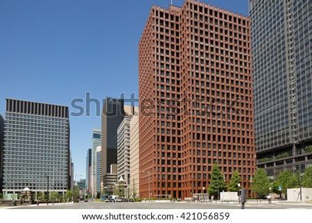 Marunouchi office building district