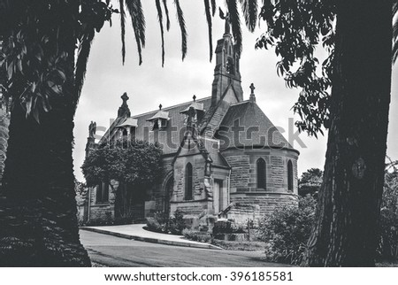 Mary MacKillop Memorial Chapel in Sydney