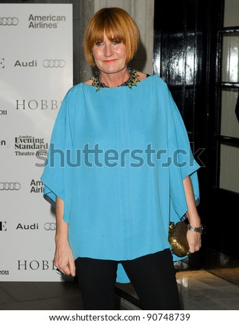 Mary Portas arriving for The Evening Standard Theatre Awards 2011, Savoy Hotel  London. 20/11/2011 Picture by: Simon Burchell / Featureflash - stock photo