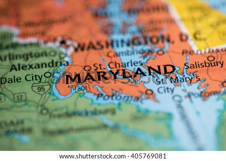 Maryland Map Stock Images RoyaltyFree Images Vectors - Maryland map