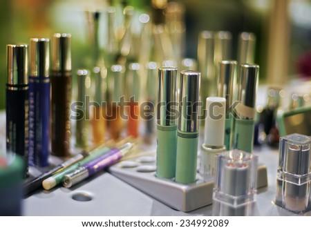 mascara - stock photo