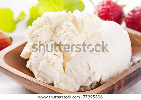 Mascarpone - stock photo
