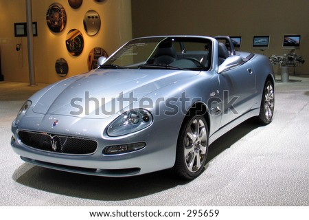Maserati 3200 GT Spyder at Geneve Auto Salon 2004