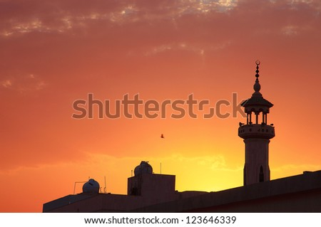 Masjid - stock photo