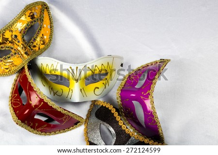 Mask, Costume, Carnival. - stock photo