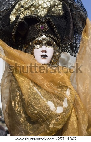 mask from venice carnival