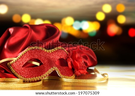 mask of red