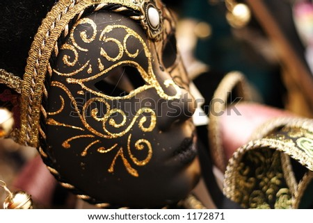 Mask of the Venice Carnaval