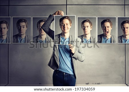 Masked - stock photo