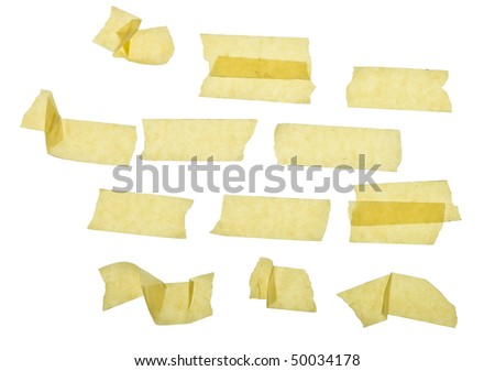masking tape - stock photo